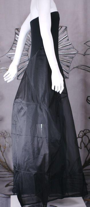 Donna Karan Architectural Organza Gown 4