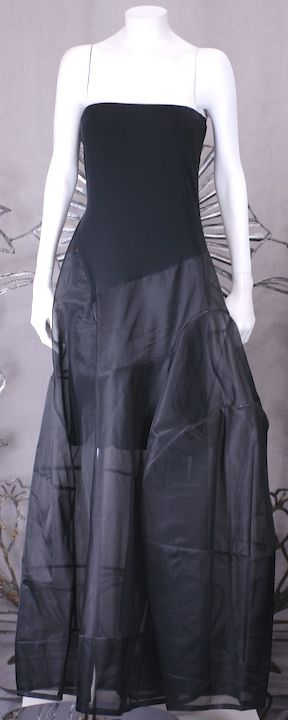 Donna Karan Architectural Organza Gown 5