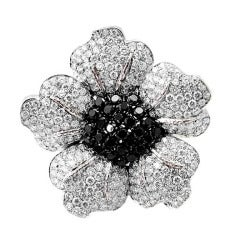 Floral Diamond Lady's Brooch