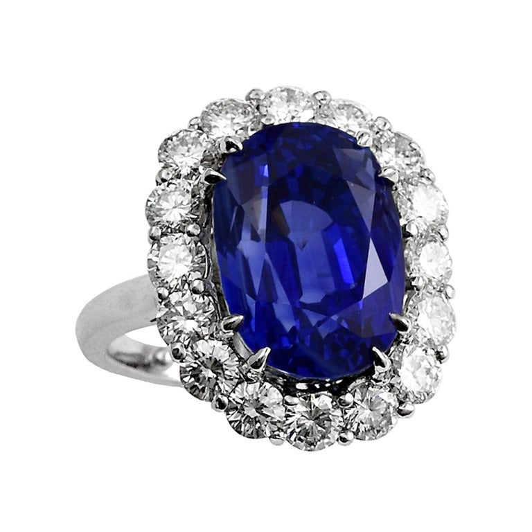 Ceylon Sapphire And Diamond Ring Designs