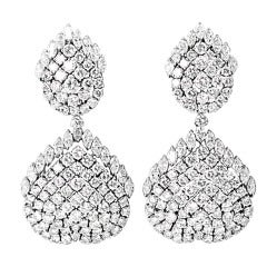 Diamond Drop Convertible Earrings