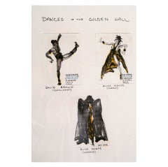 Halston Original Costume Designs ex Martha Graham Estate
