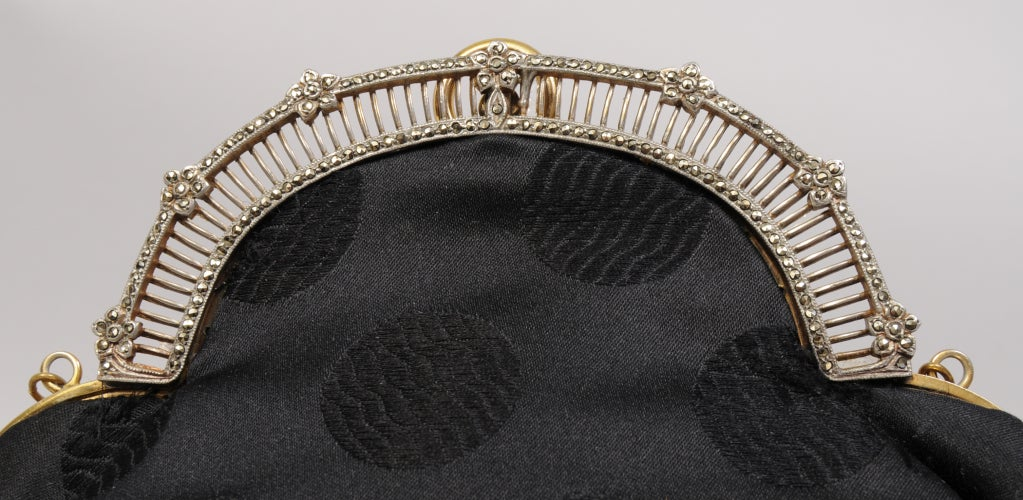 Jacomo, Paris Marcasite & Silk Bag 3