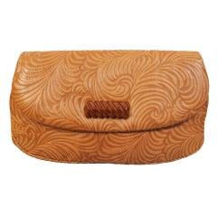 Jacomo Tooled Leather Bag