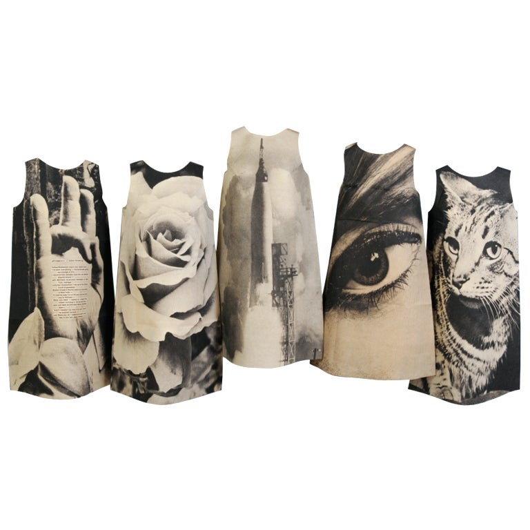 London Series Paper Dresses, Complete 1st Edition For Sale