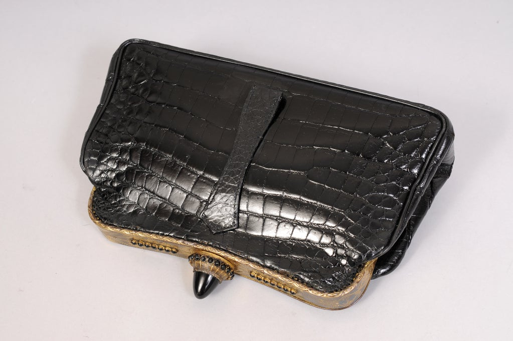 Jacomo Crocodile Clutch image 3