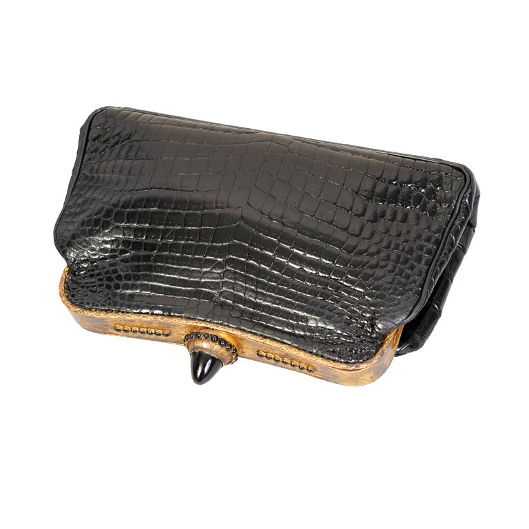 Jacomo Crocodile Clutch