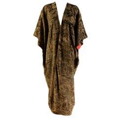 Fortuny Stenciled Velvet Coat