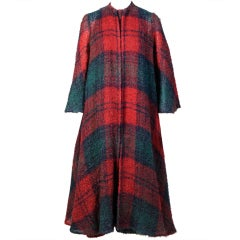 Stavropoulos Mohair Coat & Scarf