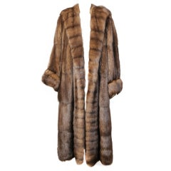 Russian Sable Full Length Coat Neiman Marcus