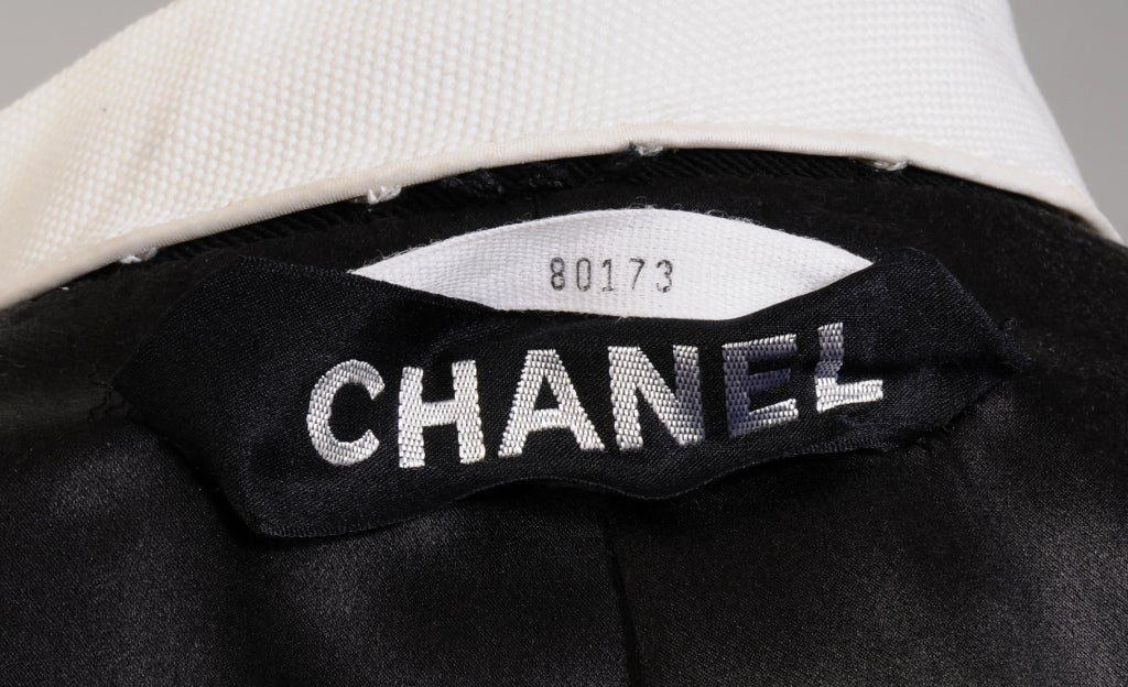 Chanel Numbered Haute Couture 5
