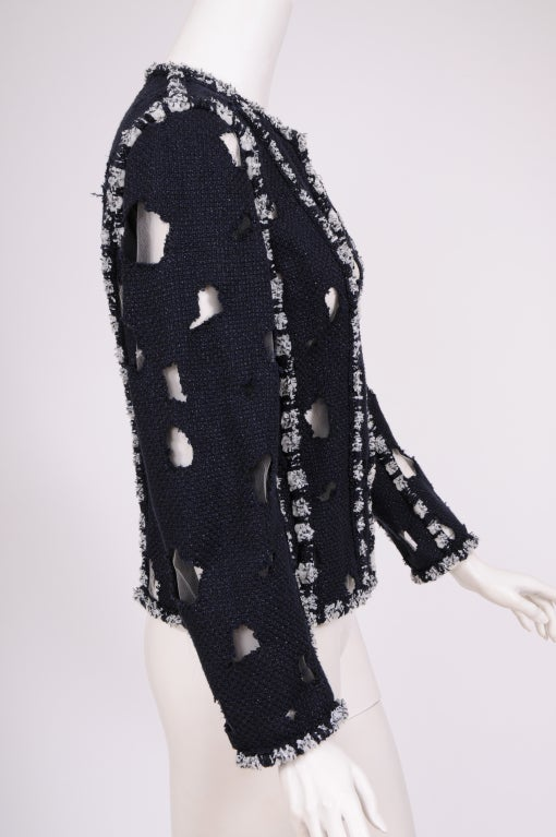 Karl Lagerfeld for Chanel Iconic Met Museuem Punk Jacket 5