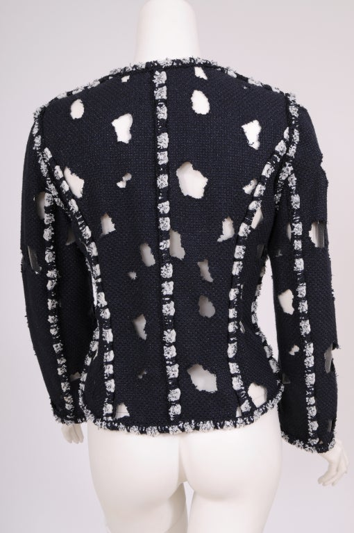 Karl Lagerfeld for Chanel Iconic Met Museuem Punk Jacket 6