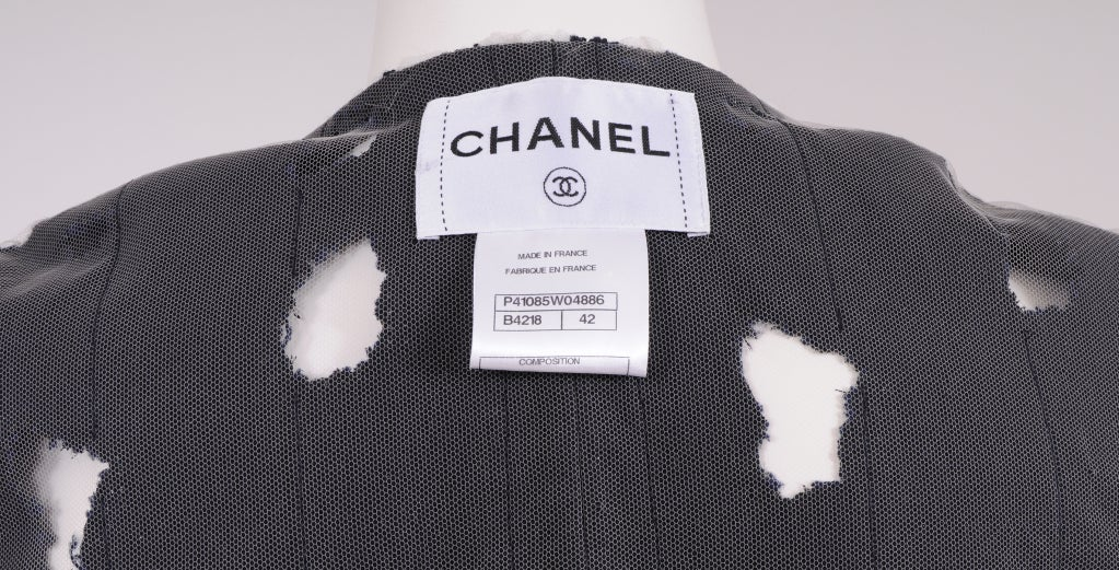 Karl Lagerfeld for Chanel Iconic Met Museuem Punk Jacket 7