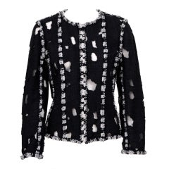 Karl Lagerfeld for Chanel Iconic Met Museuem Punk Jacket