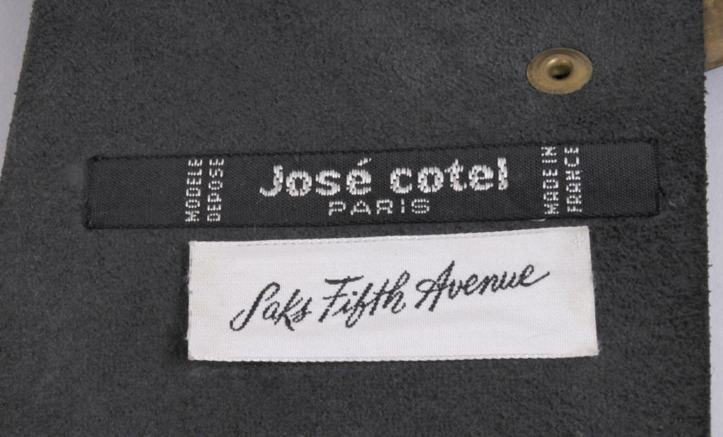 Jose Cotel Oversized Buckle For Sale 1