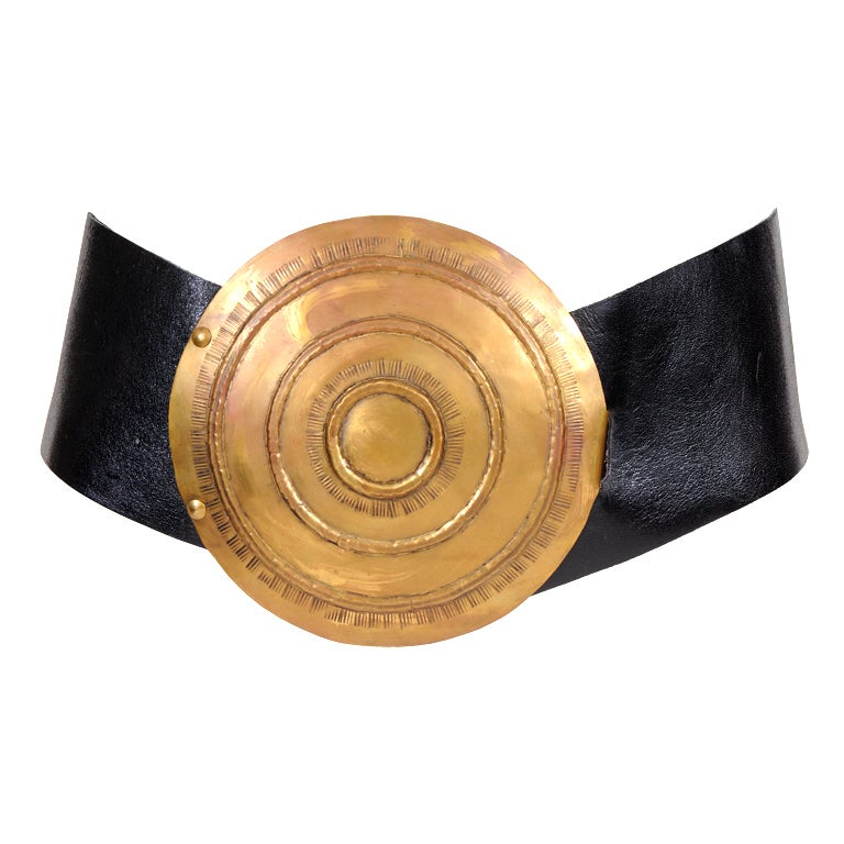 Jose Cotel Oversized Buckle For Sale