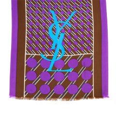 YSL Silk Scarf