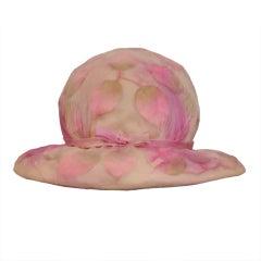 "Rare Bill Cunningham "" Willam J "" Hat"