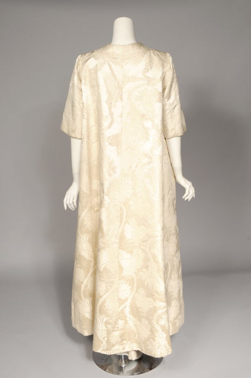 1950\'s Nitsa Athens, Greece Evening Gown and Coat at 1stdibs