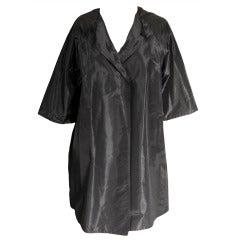 Zoran Silk Taffeta Coat
