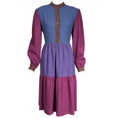 Mila Schon Color Block Dress