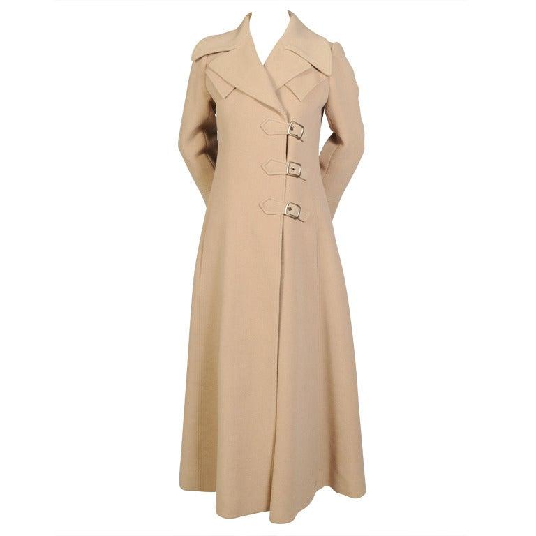 1970's Camel Maxi Coat