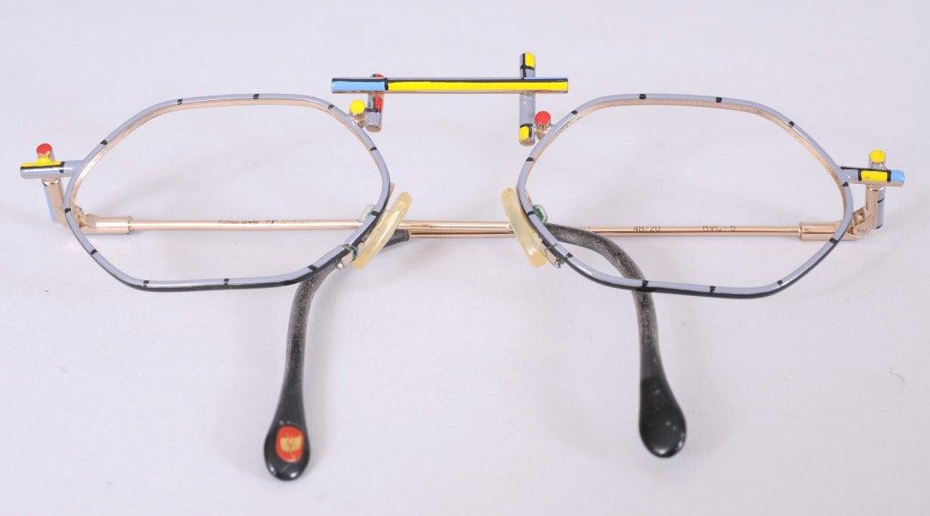 Eyeglass Frame Identification : Italian Modernist Eyeglass Frames at 1stdibs