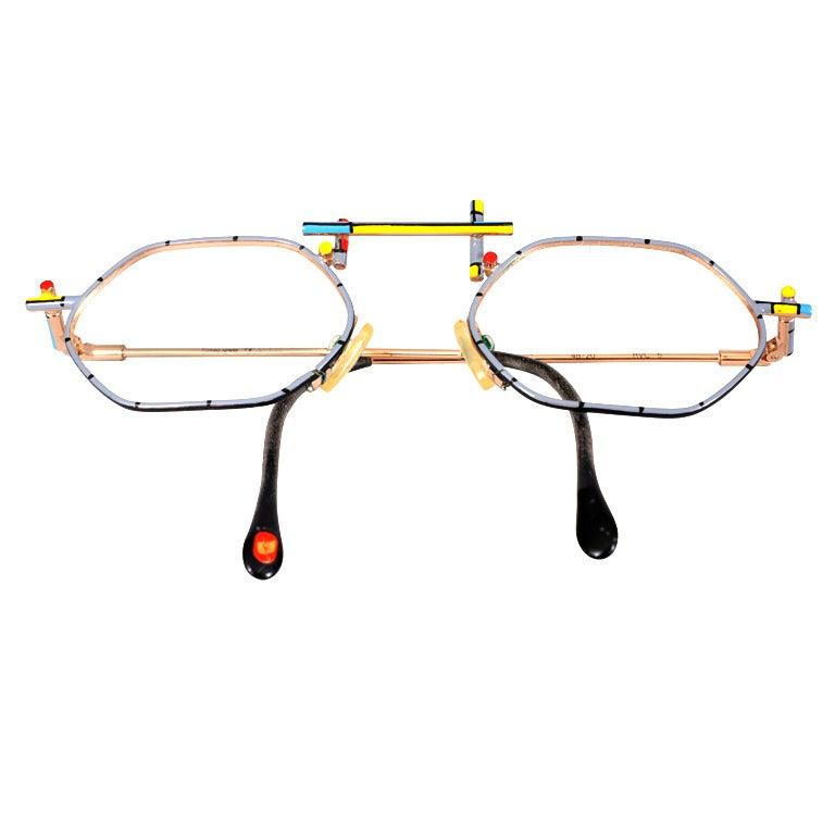 Eyeglass Frames Italian Company : Italian Modernist Eyeglass Frames at 1stdibs