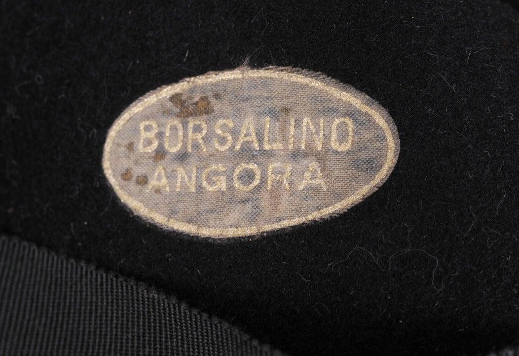 Borsalino Angora Fedora 5