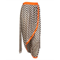 Jean Paul Gaultier Striped Harem Pant/Skirt