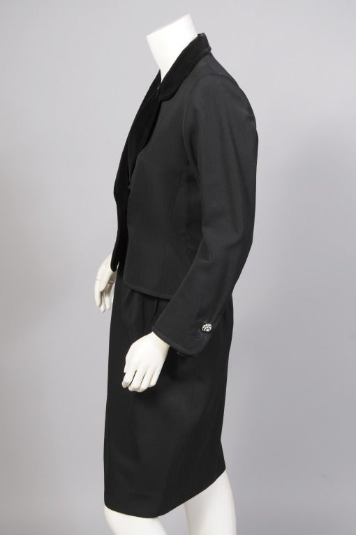 Yves Saint Laurent Evening Suit In Excellent Condition For Sale In New Hope, PA