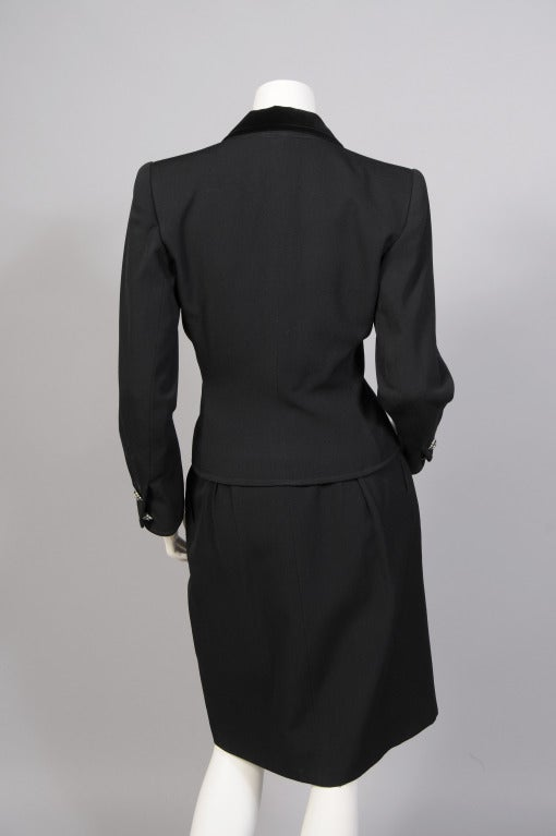 7e2c16b0e69 Yves Saint Laurent Evening Suit For Sale at 1stdibs