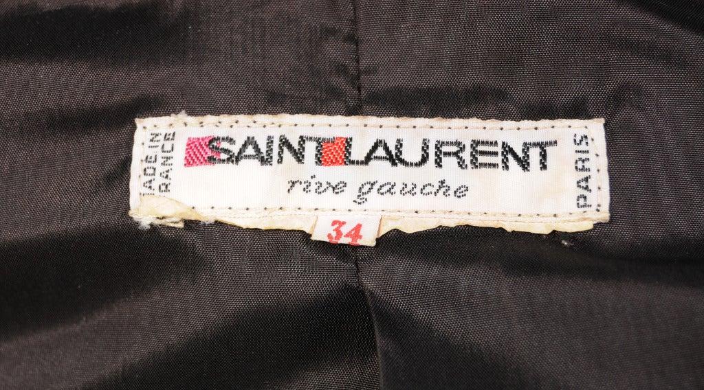 Yves Saint Laurent Evening Suit For Sale 1