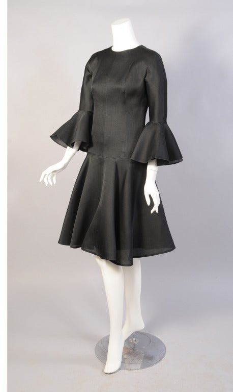 balenciaga 1960 39 s haute couture silk gazar cocktail dress