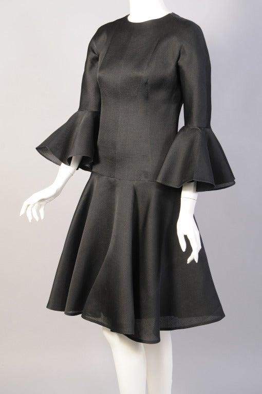 9ccde4133ec9 Balenciaga 1960  39 s Haute Couture Silk Gazar Cocktail Dress at 1stdibs