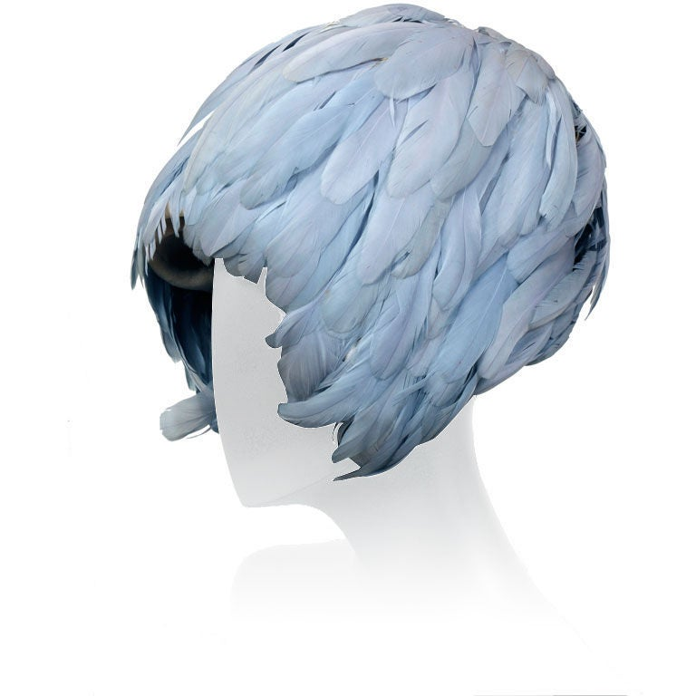 Halston of Bergdorf  Goodman Wig Hat For Sale