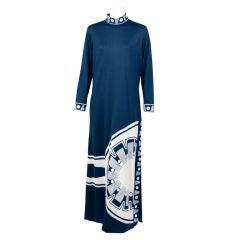 Modernist Paganne  Print Dress