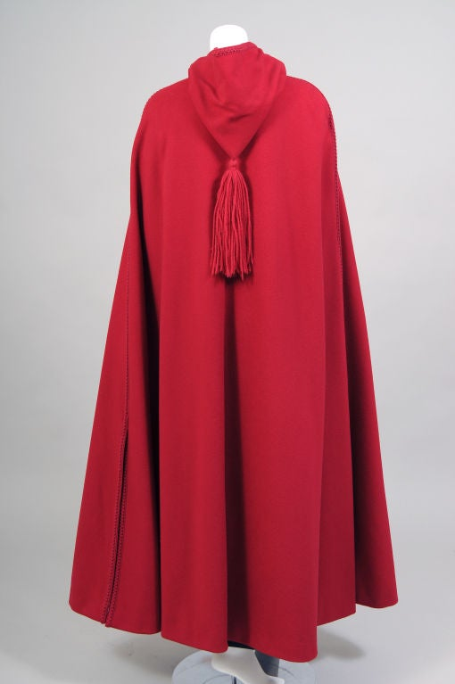 Christian Dior Wool Cape 3