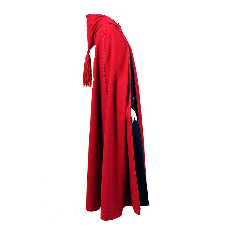 Christian Dior Wool Cape 1