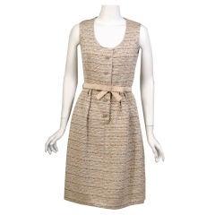Bob Bugnand  Metallic Gold Dress & Jacket