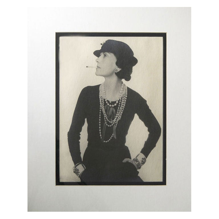 Photographic Portrait of Coco Chanel 1