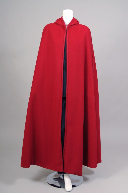 Christian Dior Wool Cape 4