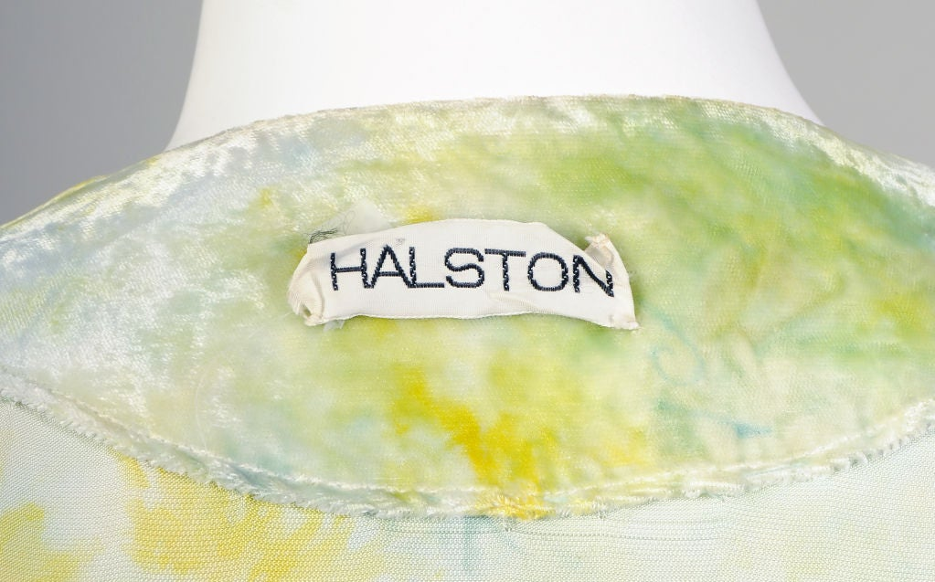 RARE Halston Tie Dyed Outfit 6