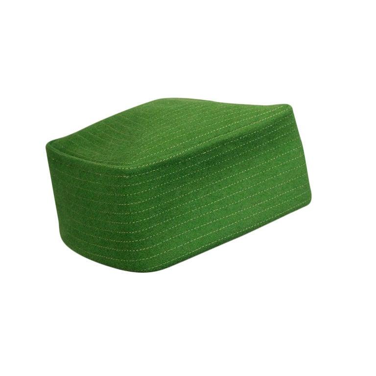 Bergdorf Goodman Custom Pillbox Hat For Sale
