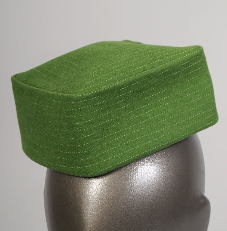 Bergdorf Goodman Custom Pillbox Hat For Sale 1