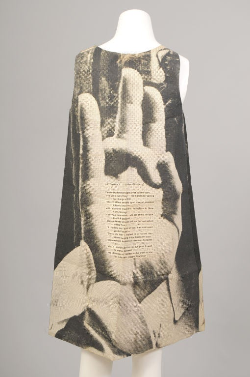 London Series Poster Dress, The Hand image 3