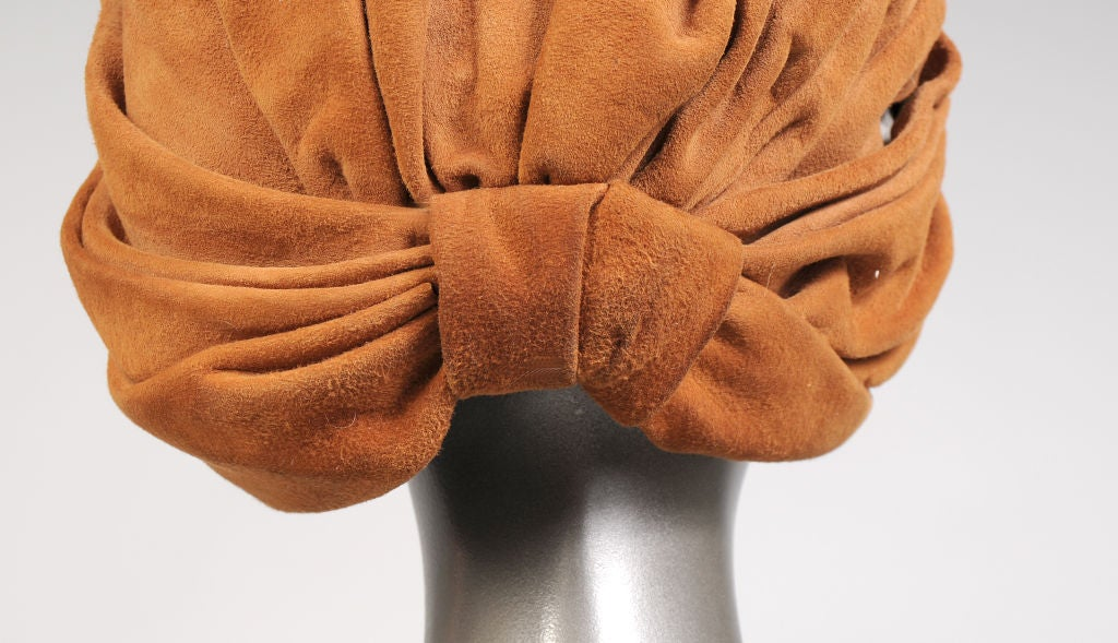 Women's Suede Turban For Sale
