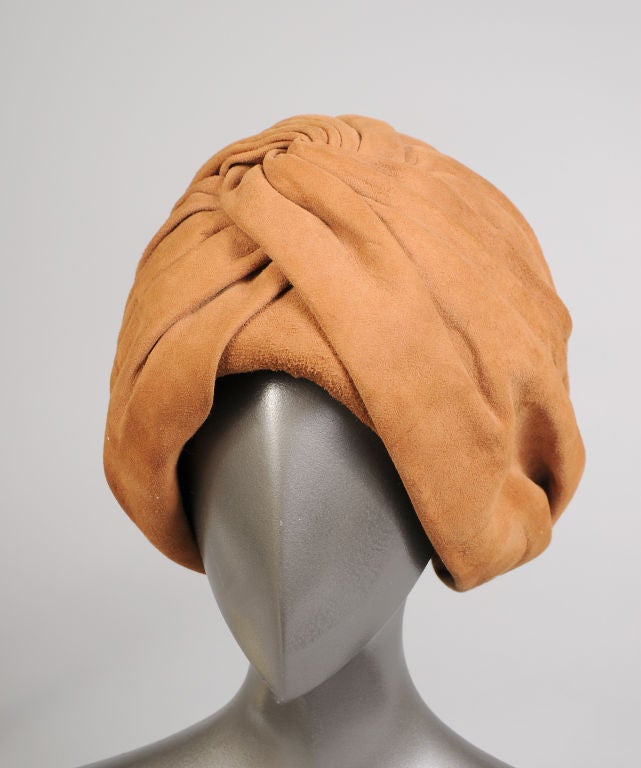 Suede Turban For Sale 2