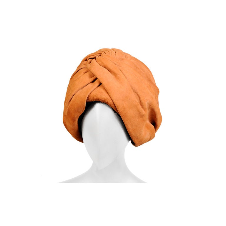 Suede Turban For Sale
